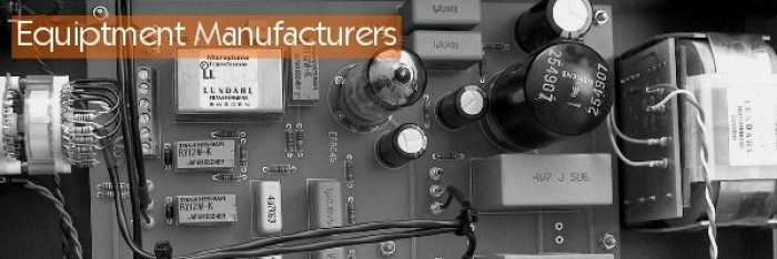 Equiptment Manufacturers